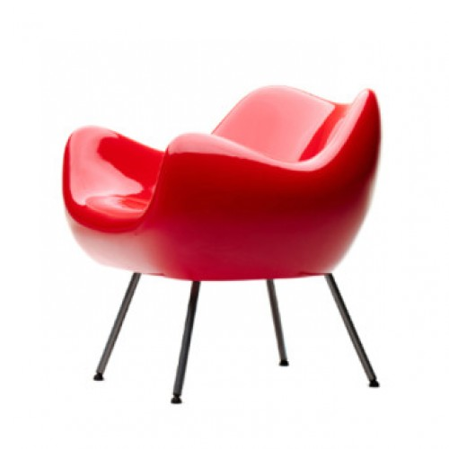 RM 58 Armchair Limited Edition Red / White