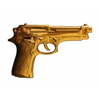 "MY GUN ""LIMITED GOLD EDITION"" PORCELAIN"